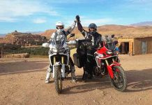Riding Morocco: Chasing the Dakar, Honda Africa Twin