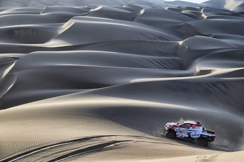 Dakar Rally Strategy