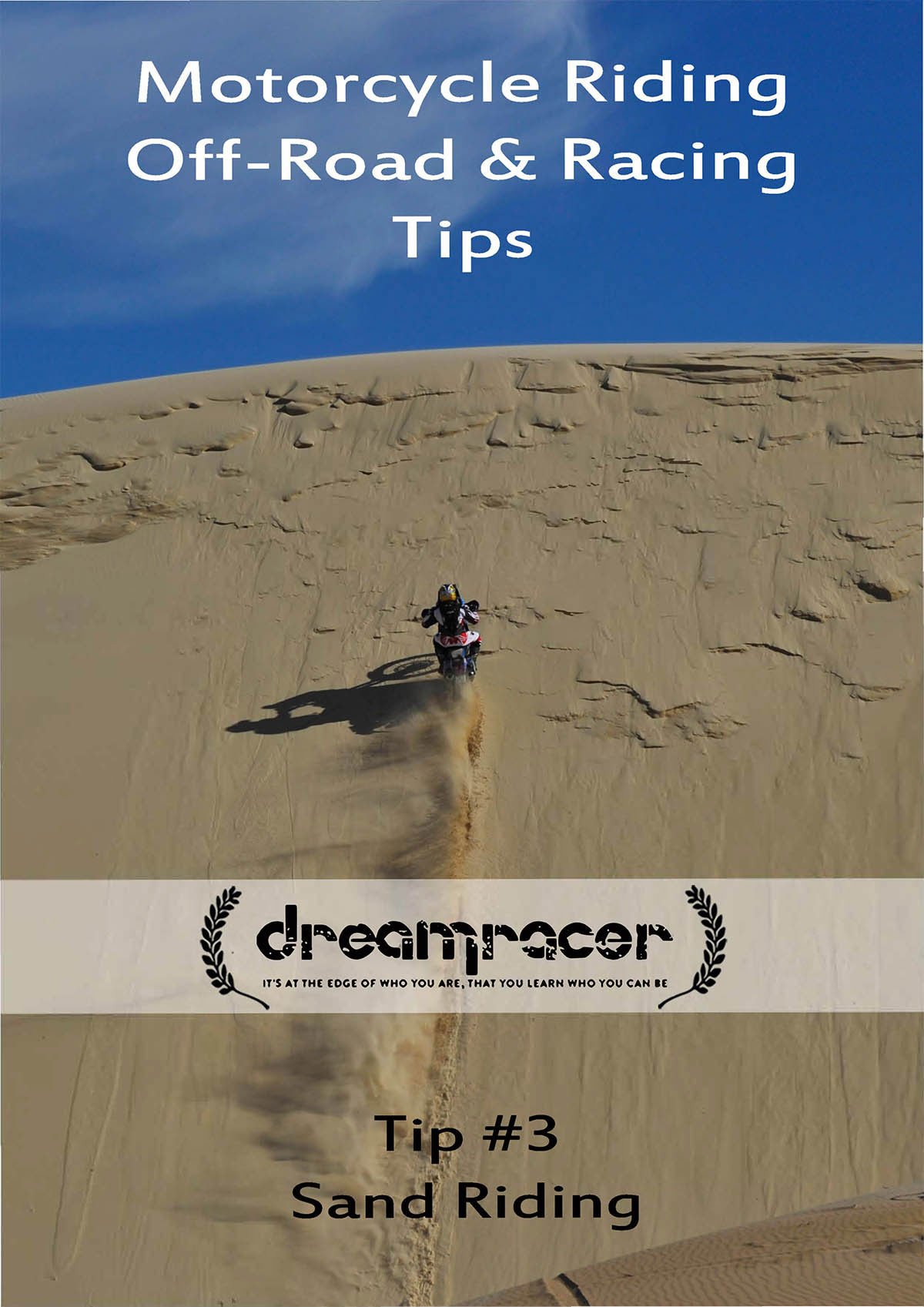 how to ride in the sand