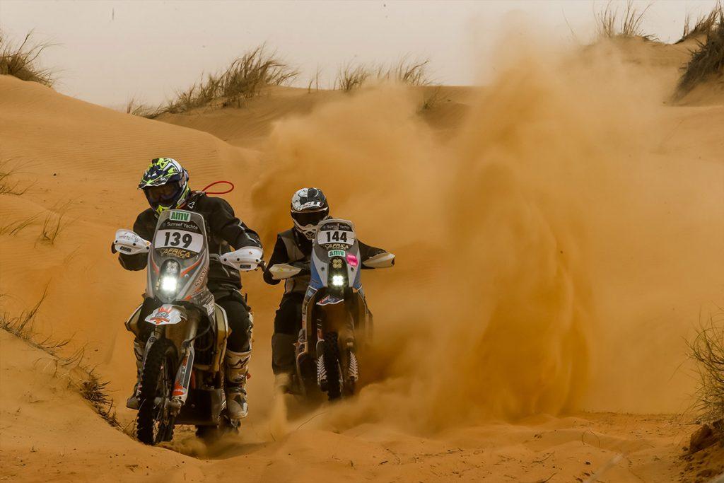 africa eco race - motorbikes - stage 10