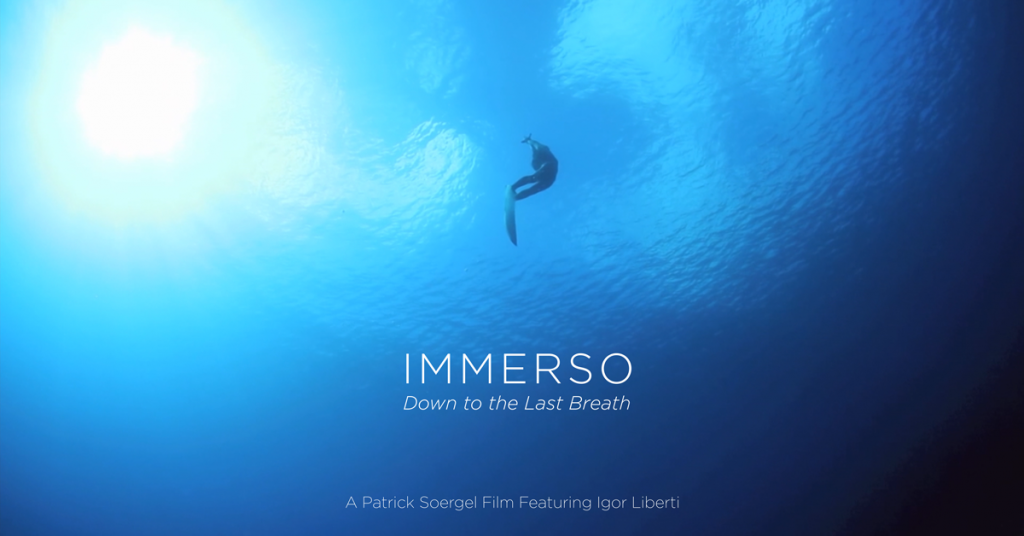 freediving film immerso